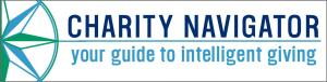 Logo: Charity Navigator, your guide to intelligent giving