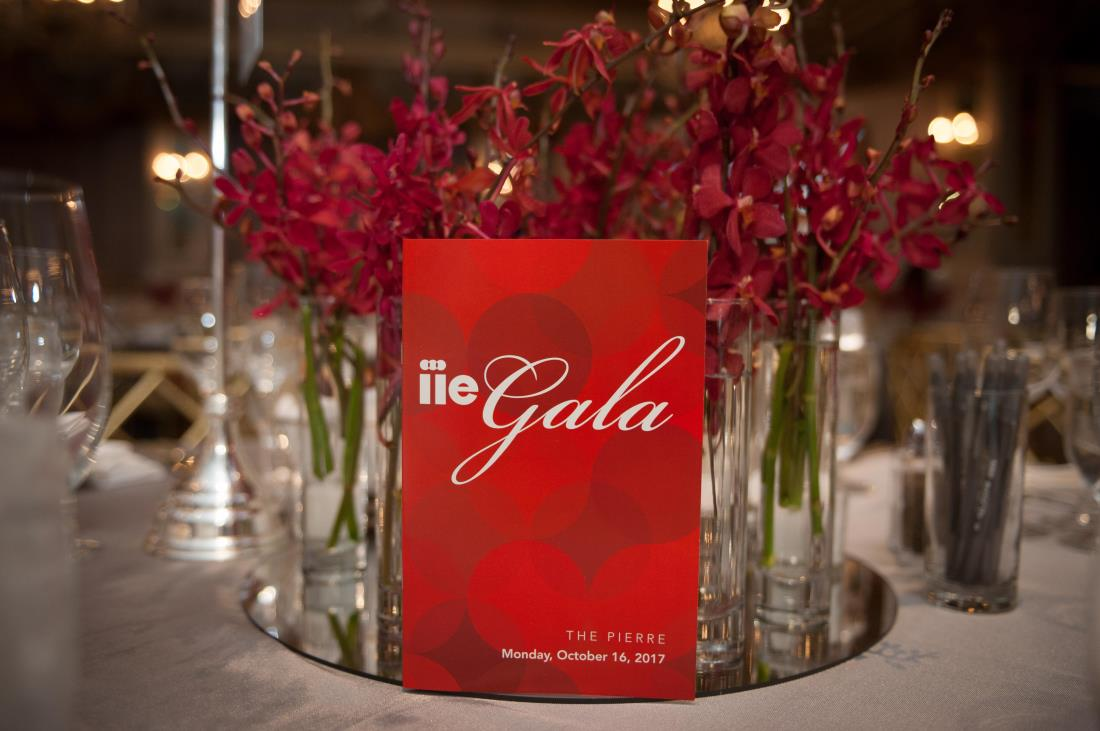 Gala Program on Table