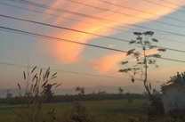 Evening sky in Kholesiwal, Chitwan, Nepal