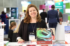 Image: Collete Agnese at NAFSA