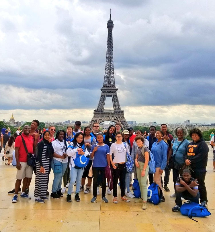 DCPS Global Ed in Paris