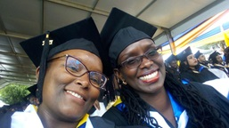 Image: Dr Nancy Muturi at the USIU Graduation