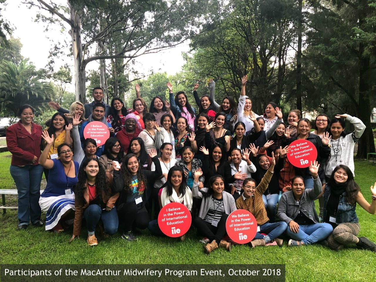 Participants of the MacArthur Midwifery Program Leadership Event, October 2018