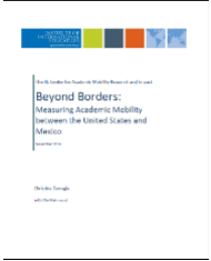 Beyond Borders US Mexico Academic Mobility