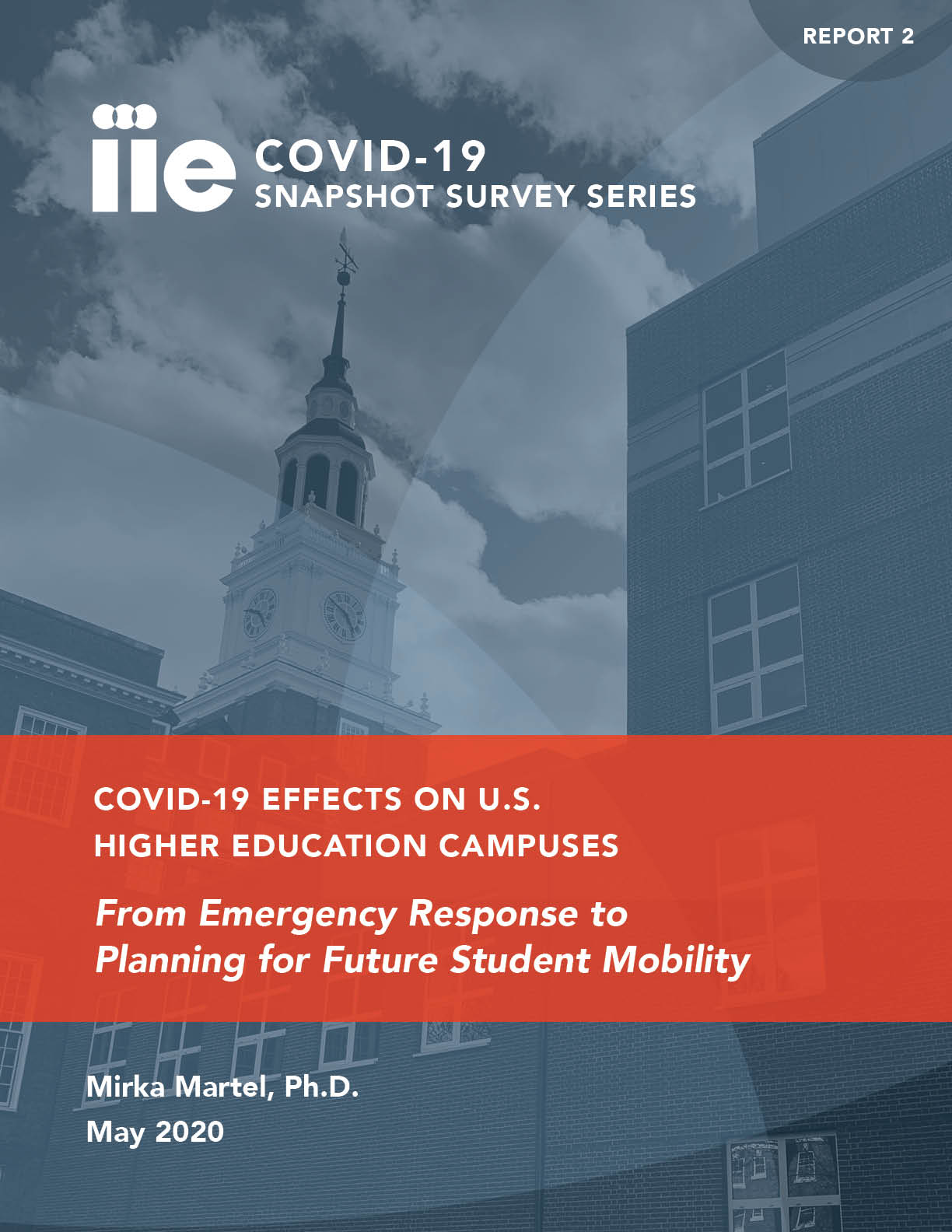 Cover of COVID-19 Snapshot Survey Series Report 2