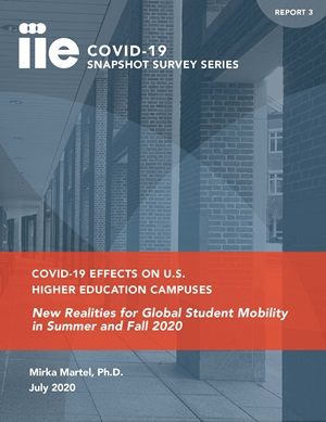 Cover of COVID-19 Snapshot Survey Series Report 3