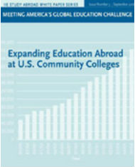 Expanding education abroad at US community colleges icon