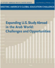 Expanding US Study Abroad to the Middle East