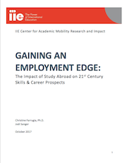 Report Cover: Gaining an Employment Edge