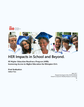 Higher Education Readiness Report Cover