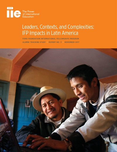 Cover: Leaders, Contexts, and Complexities:  IFP Impacts in Latin America