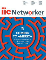 Magazine Cover: IIE Networker 2017