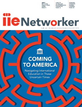 Magazine Cover: IIENetworker 2017