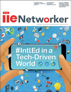 IIE  Networker Spring 2018 Cover Image
