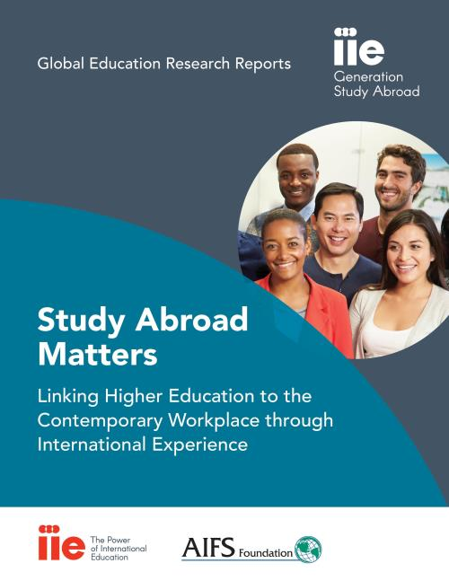 Image: Cover of Study Abroad Matters: Linking Higher Education to the Contemporary Workforce through International Experience