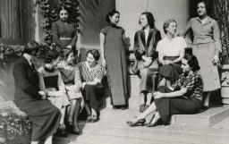 Archival Photo: Barnard Grantees