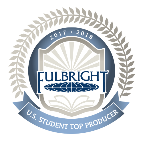 Logo: Fulbright US Student Top Producer