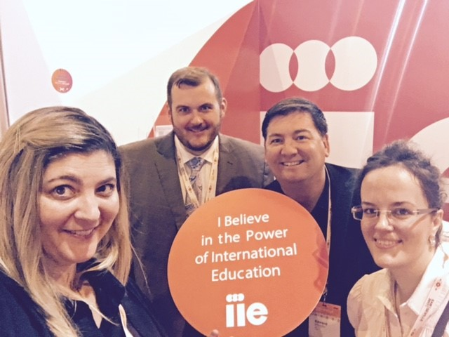 Photo: IIE Team Members at EAIE 2017