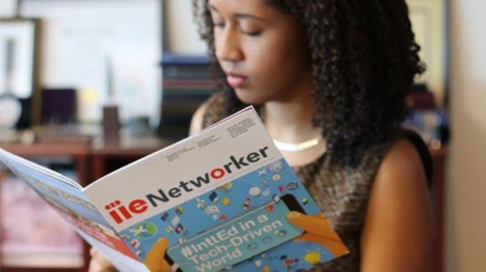 Team Member Reading IIE Networker Fall 2018