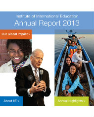 IIE Annual Report 2013