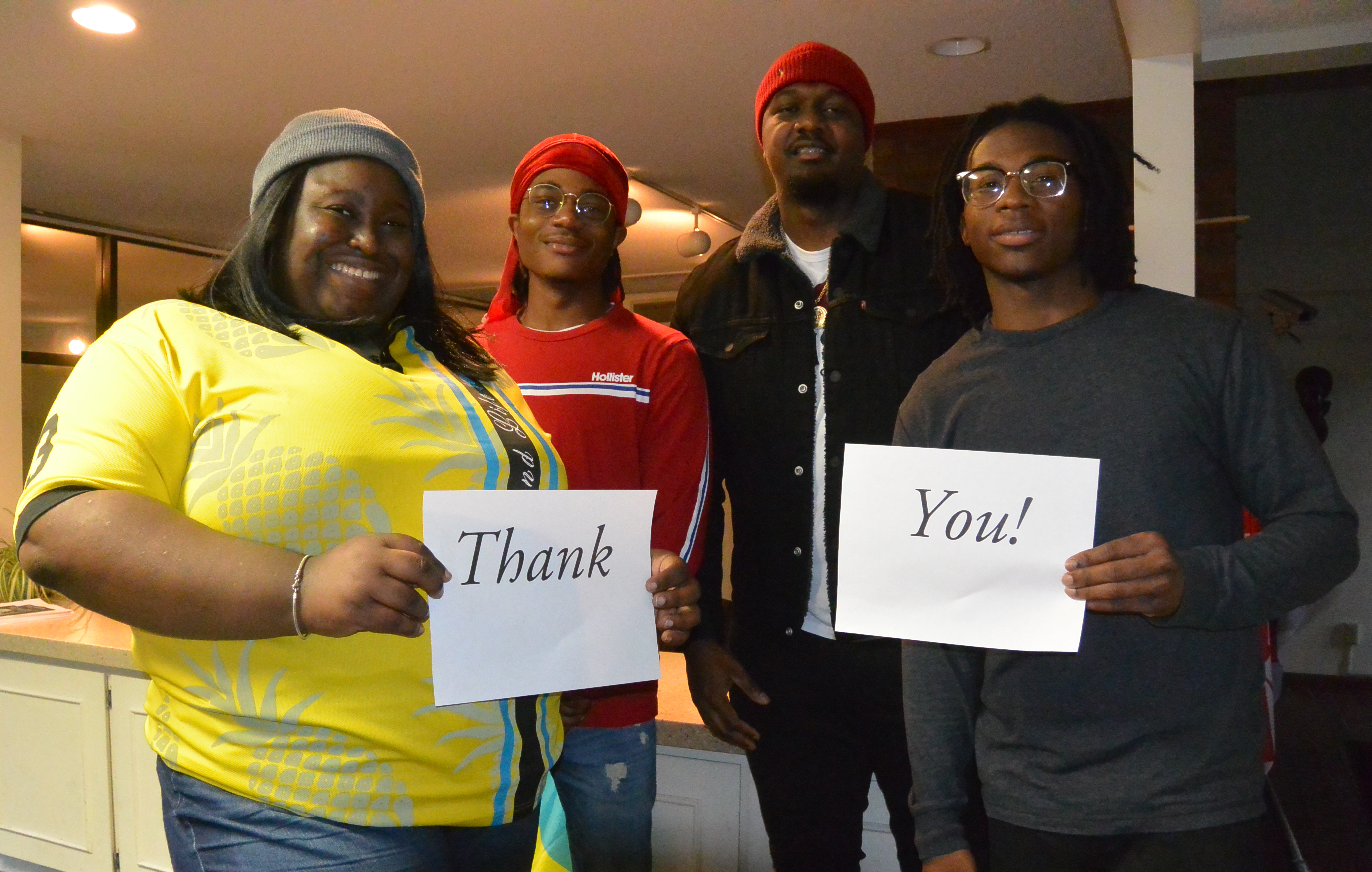 Bahamian Students Say Thank You