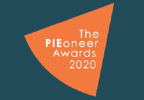 Small version of the PIEoneer 2020 awards logo.