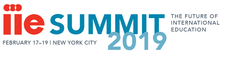 2019 IIE Summit Header Logo