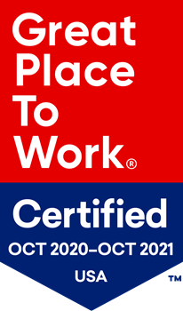 Great Place to Work certification banner
