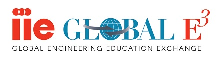 Logo: IIE Global E3 Global Engineering Education Exchange