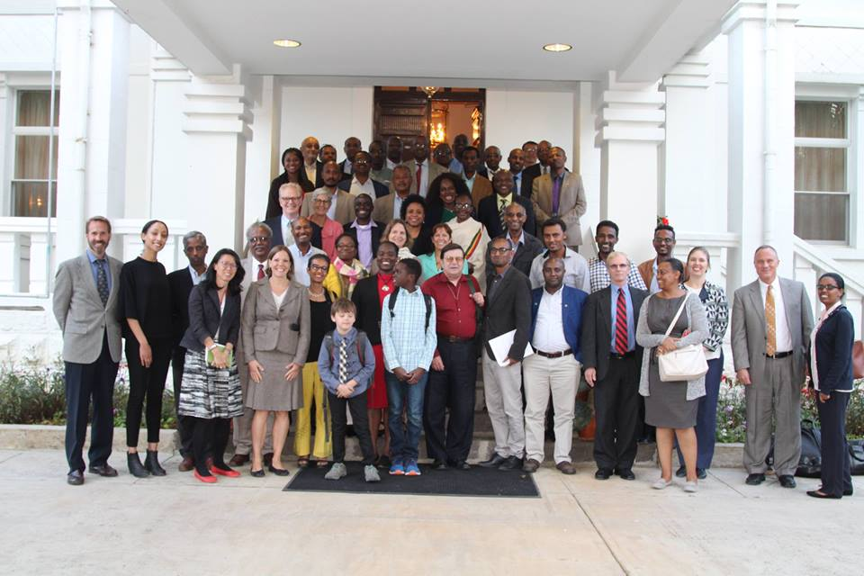 Ambassador's Distinguished Scholars and Fulbright Scholars arrive in Ethiopia.