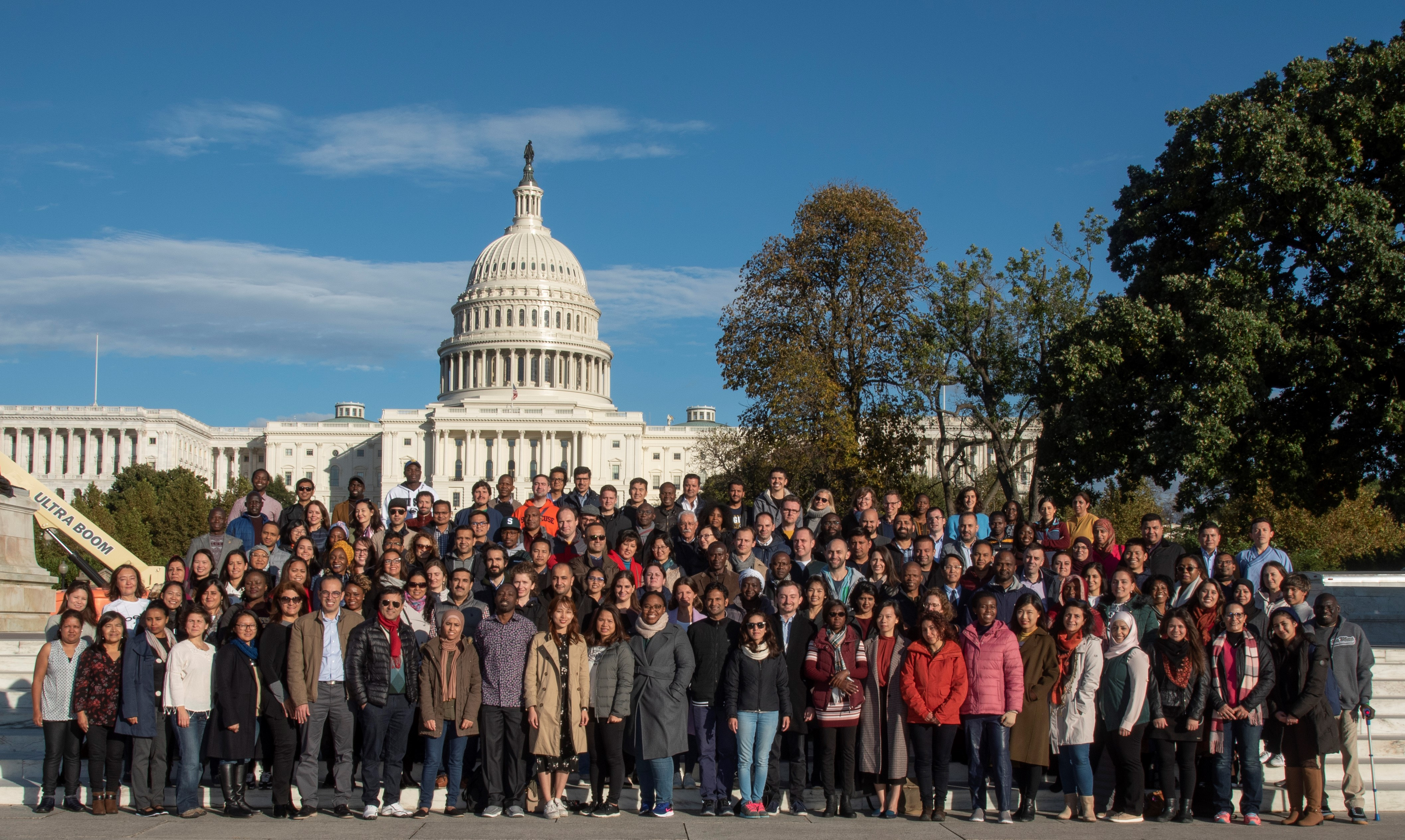 2018-2019 Humphrey Cohort at the Capitol