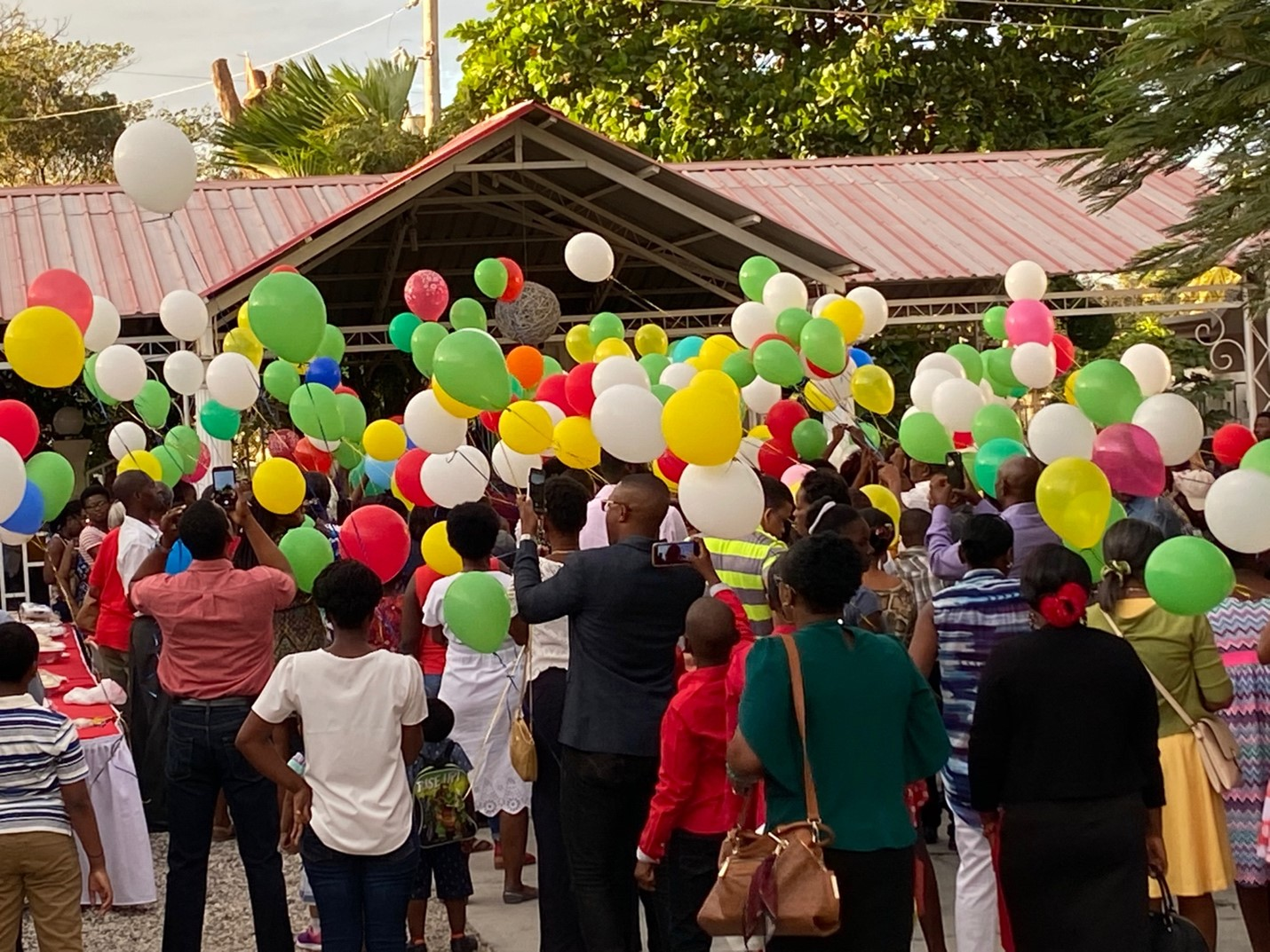 Mahalaleel Church, Delmas, Port-au-Prince, Haiti. January 12, 2020