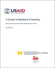 A Guide to Elections Forensics Cover