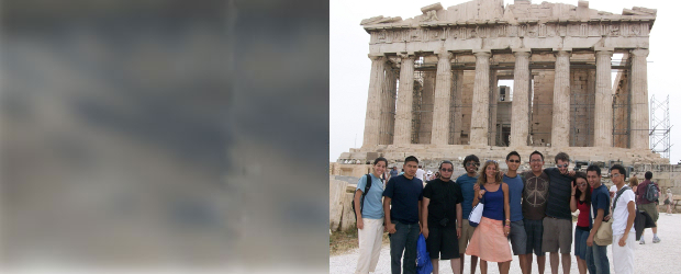 Dorrance Students in Athens