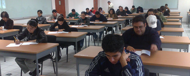 TOEFL ITP Test Session