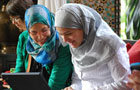 TechWomen-ST-Mentees-At-Computer